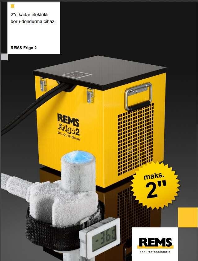 Rems Frigo 2 (Tesisatı boşaltmak yerine elektrik gücüyle dondurun)