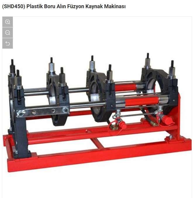Plastik Boru Alın Kaynak Makinesi (SHD630)