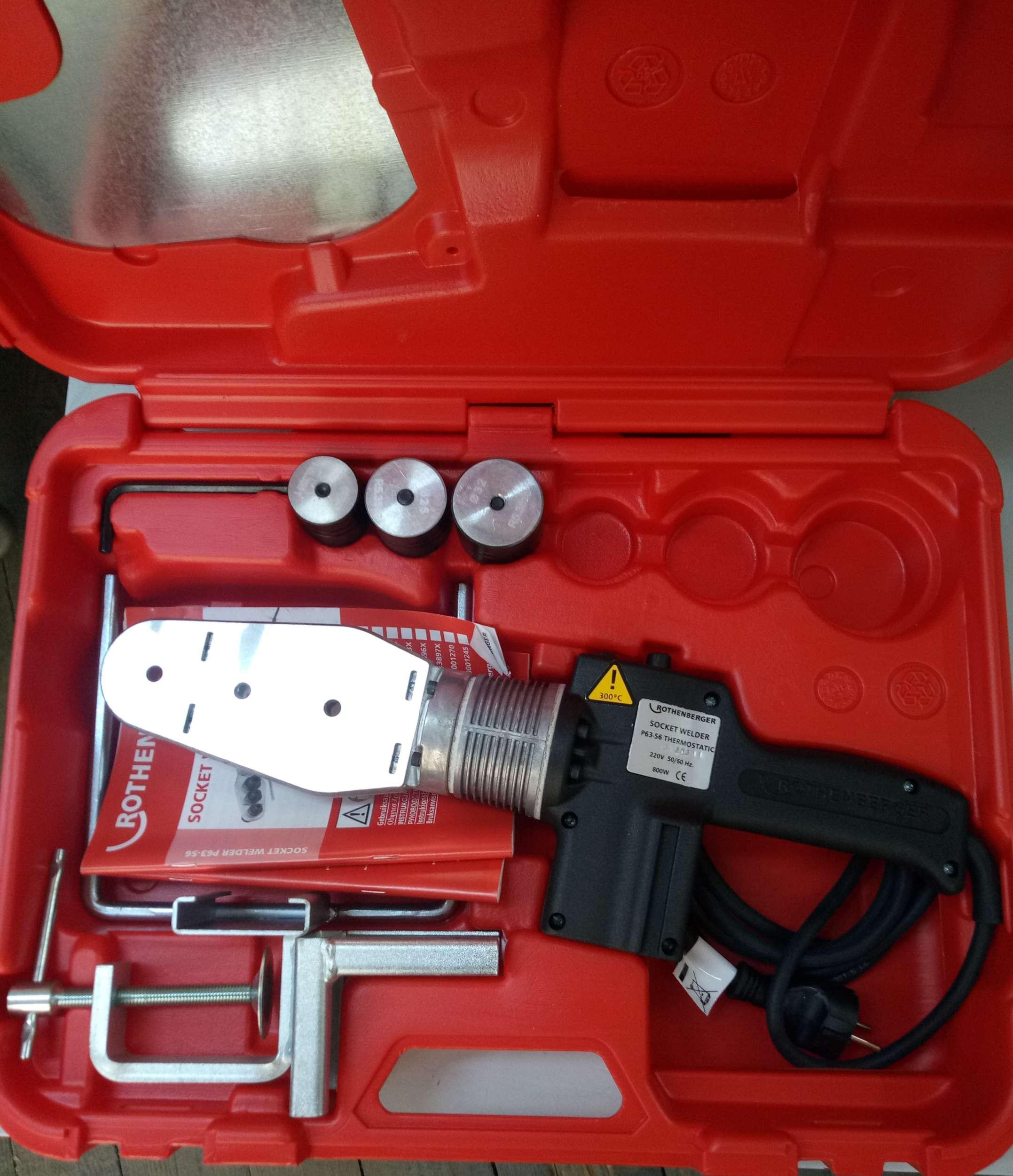 Rothenberger ROWELD Termostatik Kaynak Makinası