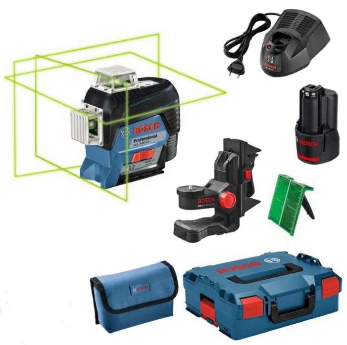 Çizgi lazer, Bosch GLL 3-80 CG Professional