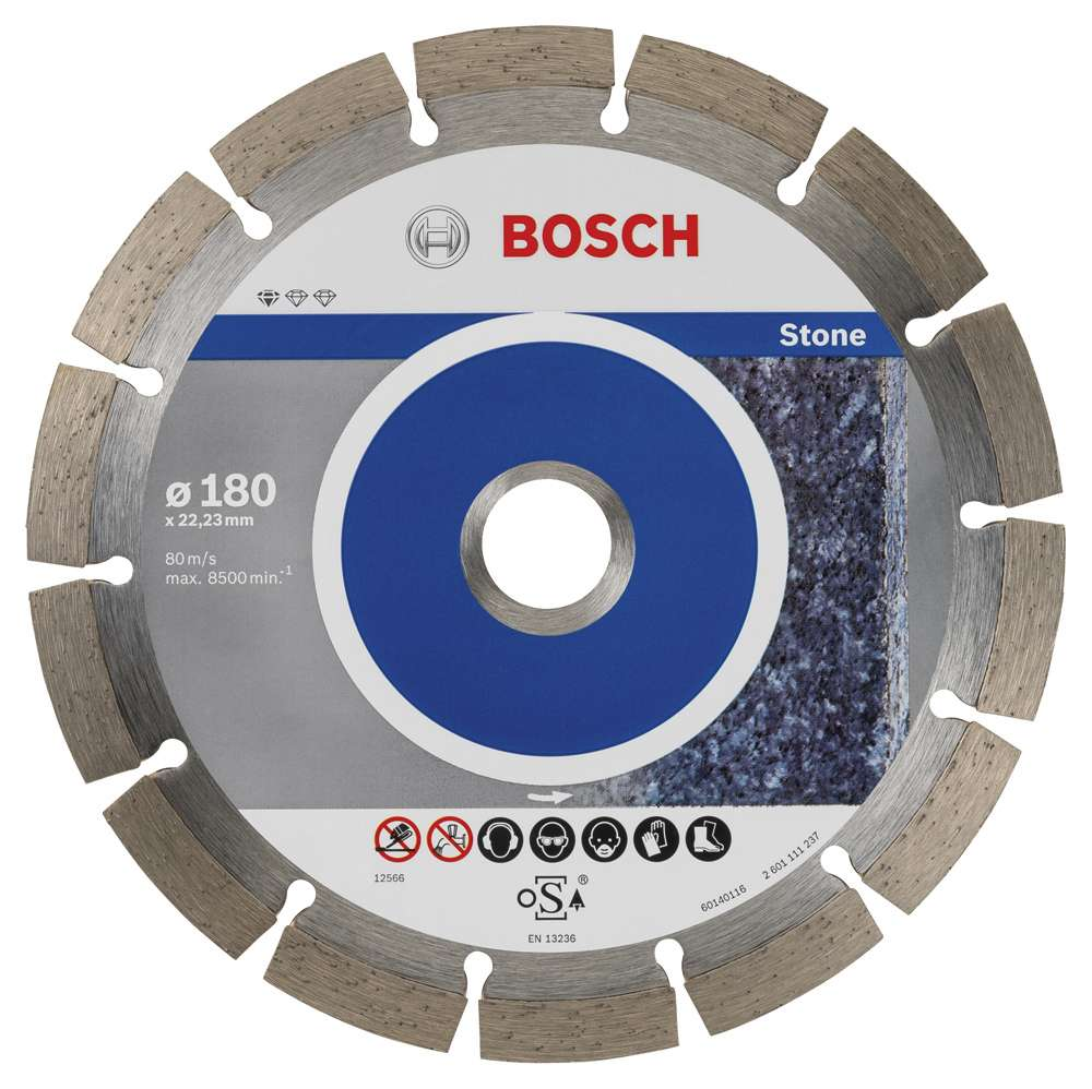 9+1 Standard for Stone 180 mm