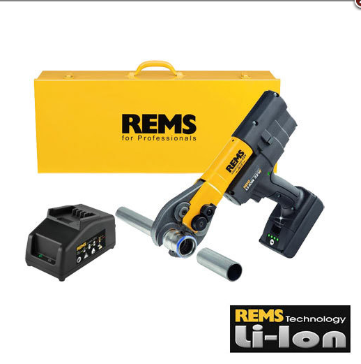 REMS Mini-Press 22 V ACC akülü radyal pres