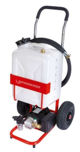 Rothenberger rosolar pump petek temizleme makinası