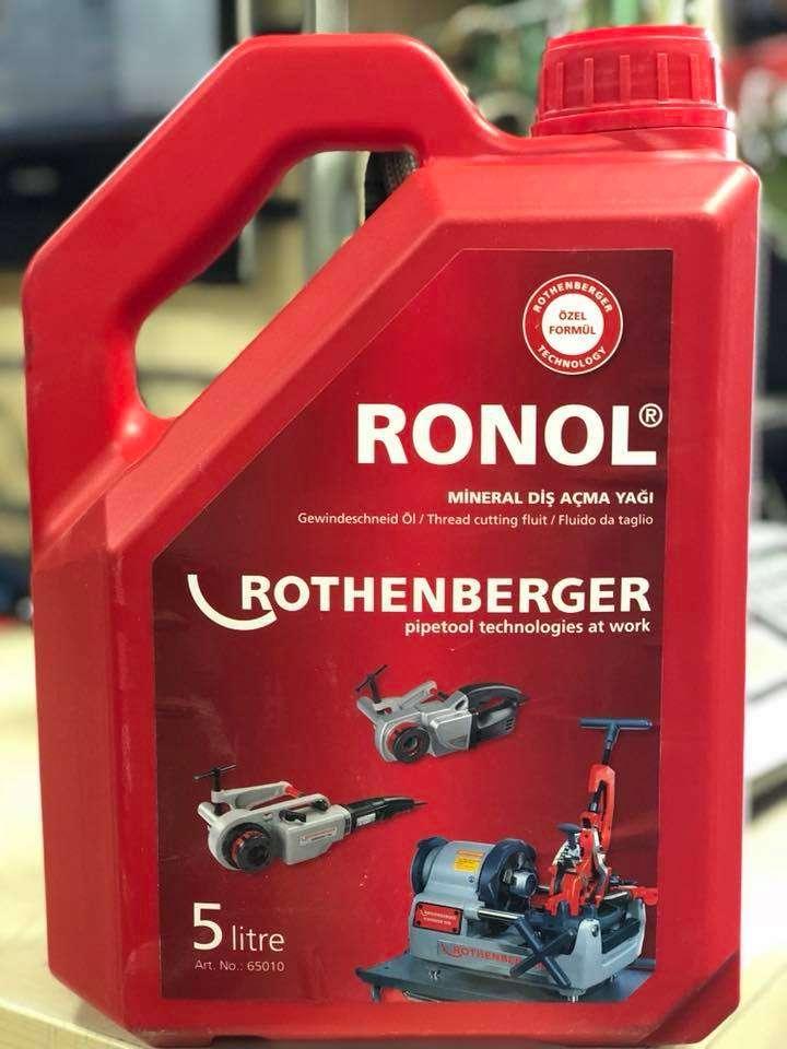 Rothenberger RONOL 5 lt. Diş Açma Yağı