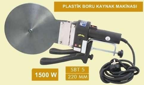 SBT5 Plastik boru kaynak makinası