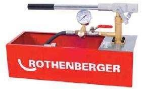 ROTHENBERGER 61130S RP 50 ECO  50'bar manuel test pompası