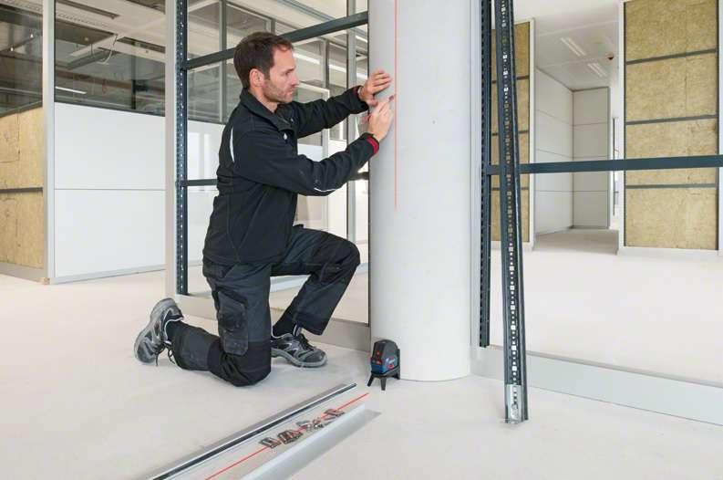 Kombi lazer Bosch GCL 2-15 G Professional + RM1 + BM3