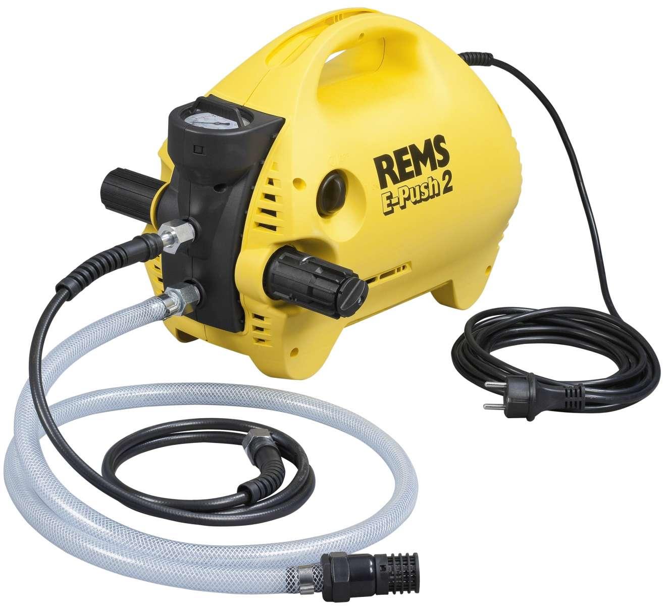 Rems E-Push test pompası( Su test pompası)