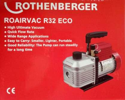 Rothenberger Roairvac R32 Eco  2 Kademeli Vakum pompası