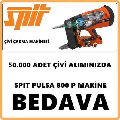 SPIT PULSA 800 P ÇİVİ ÇAKMA MAKİNESİ KAMPANYA
