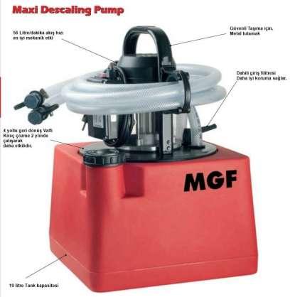 MGF MAXİ Tesisat  yıkama ve temizleme makinası