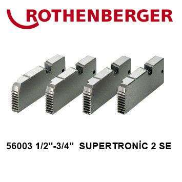 Rothenberger Pafta Tarağı 1/2-3/4 Supertronic  2SE Uyumlu