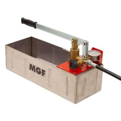MGF Manuel su test pompası 60 bar Inox