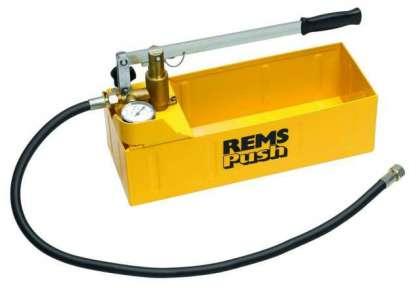 Rems Push su test pompası