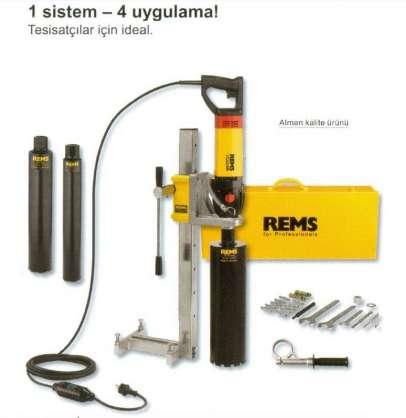 Rems picus SR Set 62+82+132 Simplex set Karot makinasıı seti