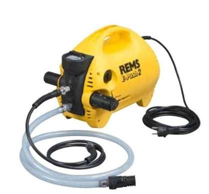 Rems E-PUSH 2 Su test pompası