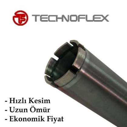 Technoflex Ø 130 mm  Karot Ucu