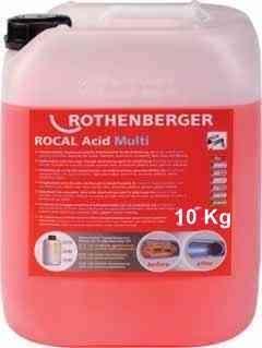 Petek temizleme kimyasalı Rocal acid Multi 10 kg.